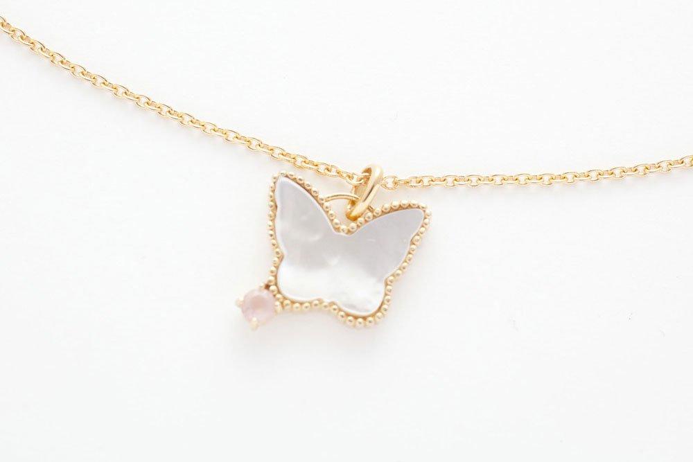 女神の白蝶貝ネックレス〜愛のGOLD♡〜