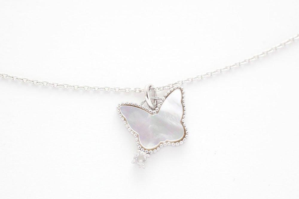 女神の白蝶貝ネックレス〜聖なるSILVER☆〜
