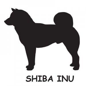 SV925シルエットチャーム 柴犬