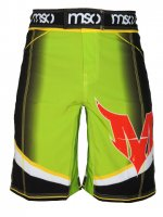 Musou gear Shorts #04 Yellow-green