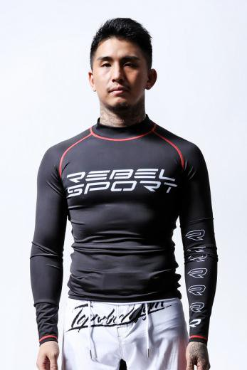 TOPREBEL GYM × MSOGR Sports Logo Long Sleeve Rash guard