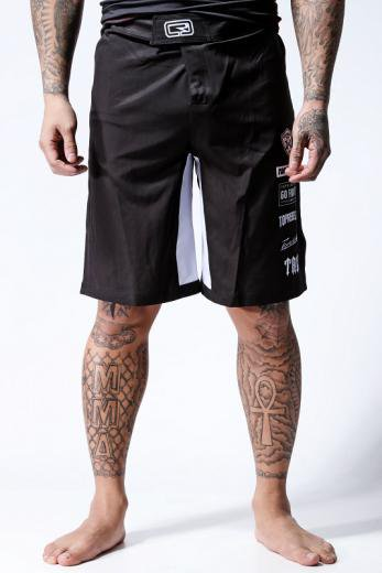 TOPREBEL GYM × MSOGR Sports Logo Board shorts