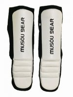 MUSOU Synthetic Leather Shin instep Pad White