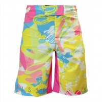 MSOGr x Wickey Art Shorts -Pastel-