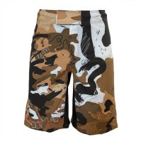 MSOGr x Wickey Art Shorts -Camouflage-