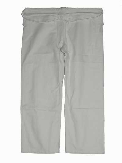MUSOU Gi Pants Canvas Cotton White