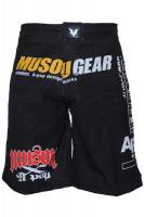 Musou gear Fight shorts #1 Black