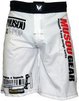 Musou gear Fight shorts #2 White/Black