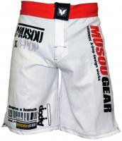 Musou gear Fight shorts #2 White/Red