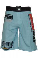 Musou gear Fight shorts #2 SkyBlue/Black