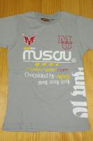 Musou gear T-shirt #02 Light Gray