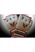 MSOGr MMA Glove White/Red
