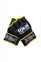 MSOGr x FOKAI MMA GLOVES Black/Yellow