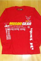 Musou gear long sleeve T-shirt #01 Red