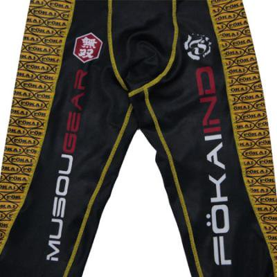 MUSOU×FOKAI LONG SPATS YELLOW/BLACK