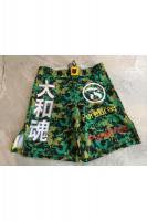 MUSOU×PUREBRED×FOKAI Fight Shorts #2 Camouflage Green