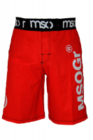 Musou gear Fight shorts #3 Red/Black