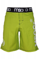 Musou gear Fight shorts #3 Yellow Green