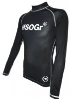 Musou gear long sleeve Rash guard #02 Black