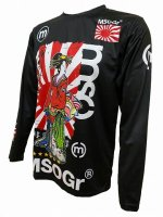 Musou Geisha Long sleeve T-shirt -Black-