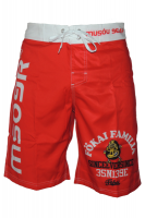 MUSOUxFOKAI BOARD SHORTS Red