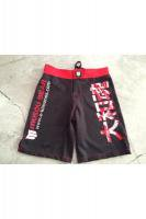 MUSOU×PUREBRED×FOKAI Fight Shorts #1 Black