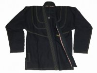 MUSOU Gi Single Ripstop Black/Gold Stitch