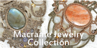 Macrame Jewelry Collection