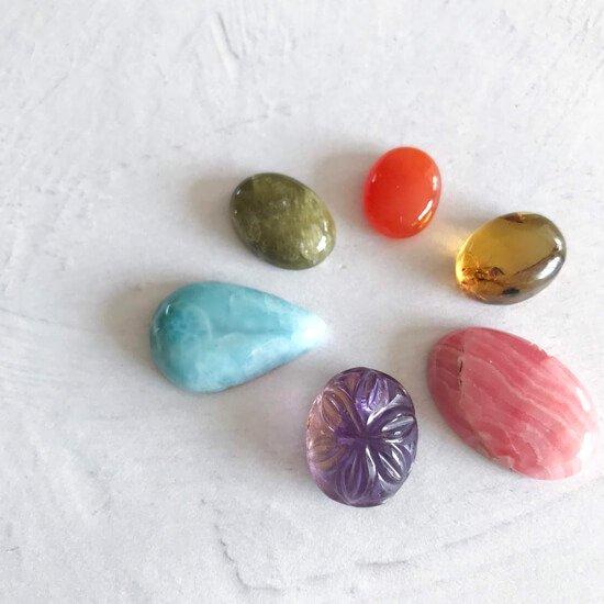 天然石ルース春色セット