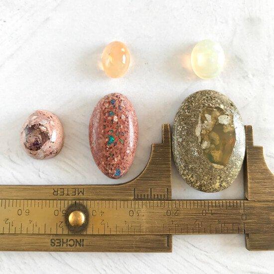 天然石ルースオパールセット