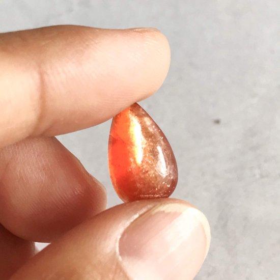 天然石ルースサンストーンセット