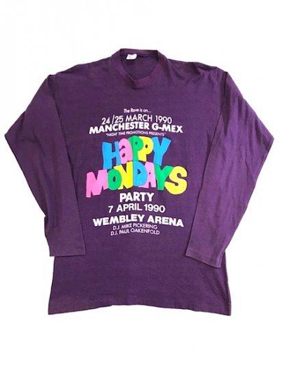 1990' HAPPY MONDAYS ロンT
