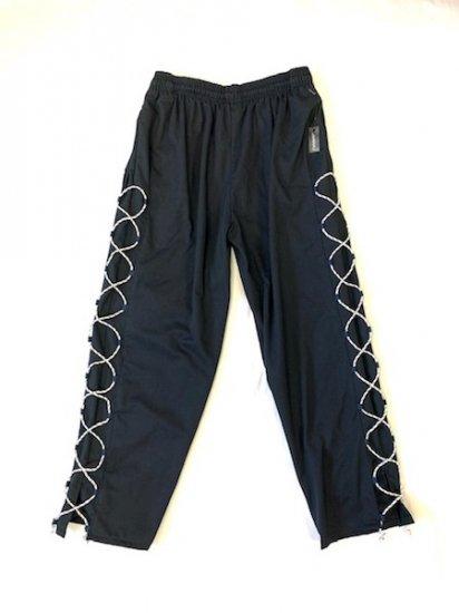 side lace パンツ 白紐 L 「1」