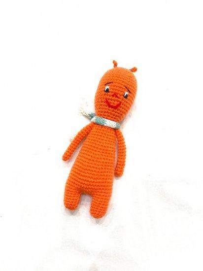 handmade 'DIRTY' knitting doll