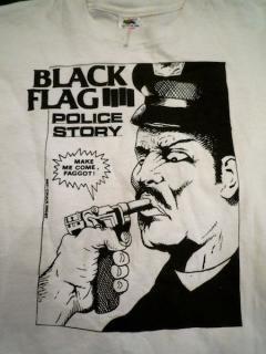 80's BLACK FLAG 「POLICE STORY」