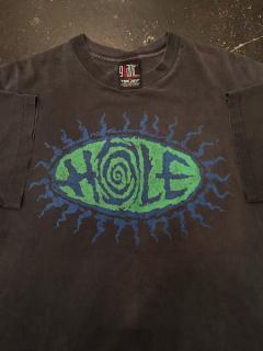 1990's〜 HOLE tour T-shirt