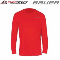 BAUER TRAINING LS TEE SR