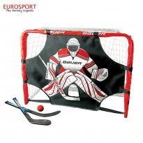 DELUXE KNEE HOCKEY GOAL SET STEEL