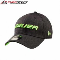 BAUER New Era  3930 39THIRTY  CAP  SR BLK/LIME