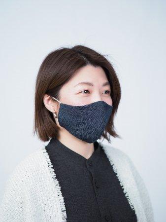 ガラボウのマスク<デニム>【M】