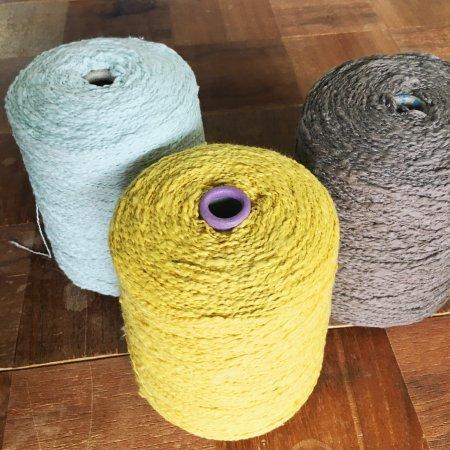 ガラ紡糸 ■500g巻 【単色シリーズ】