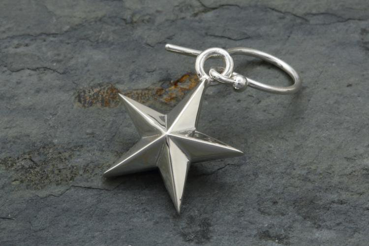 5 STAR HOOK EARRINGS 写真その1