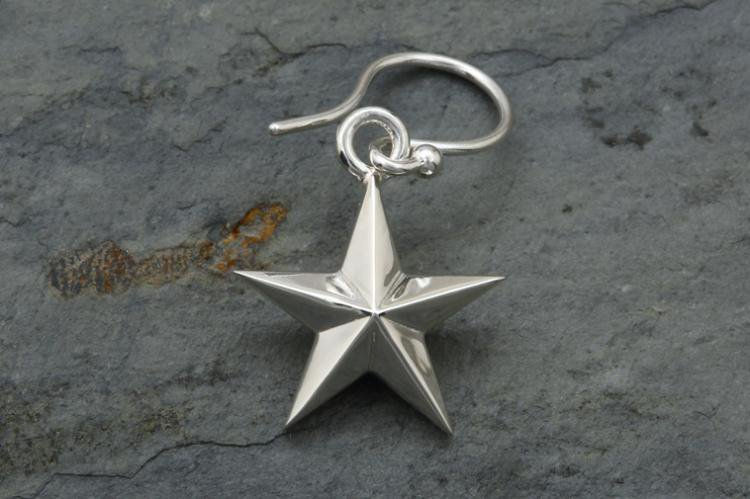 5 STAR HOOK EARRINGS 写真その2