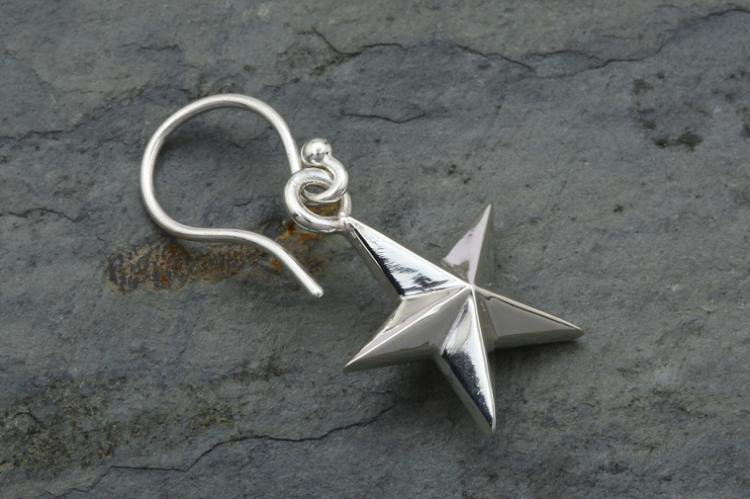 5 STAR HOOK EARRINGS 写真その3