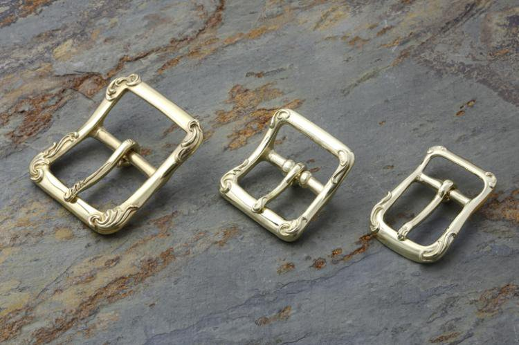 RELIEF BUCKLE brass (L)写真その3