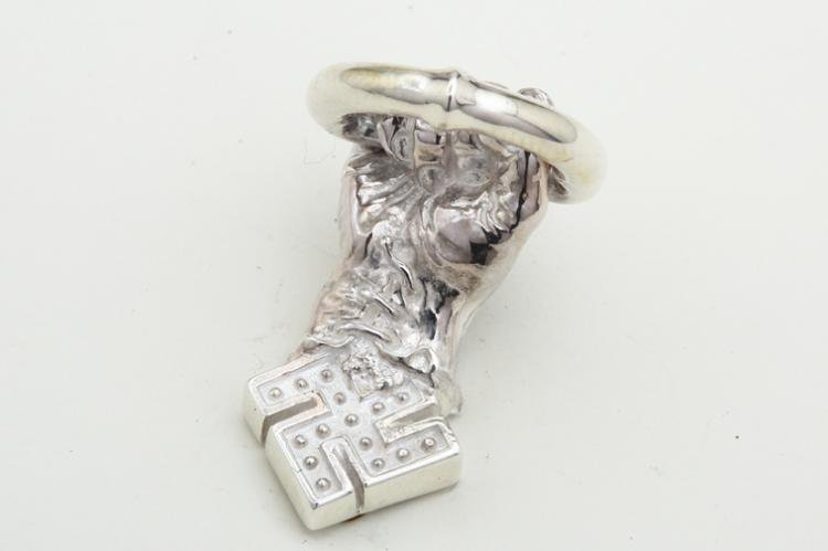 卍HAND PARTS silver写真その3