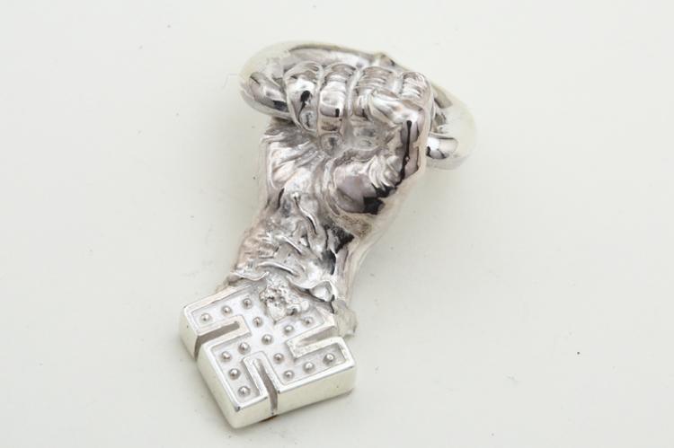 卍HAND PARTS silver写真その4