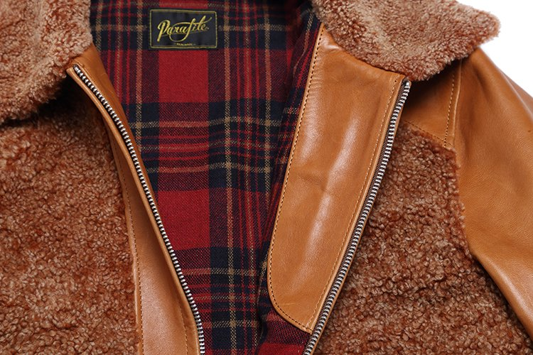 GRIZZLY JACKET -brown-写真その3