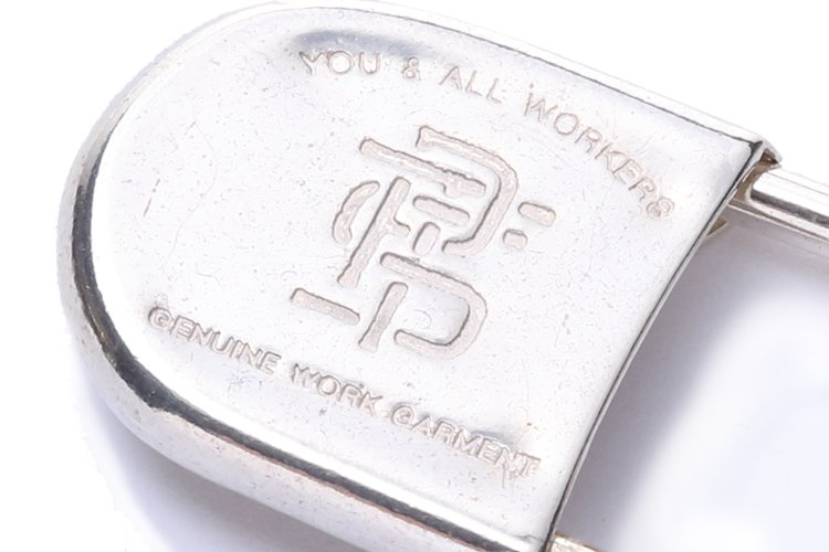 SAFETY PIN 02R -silver-写真その3