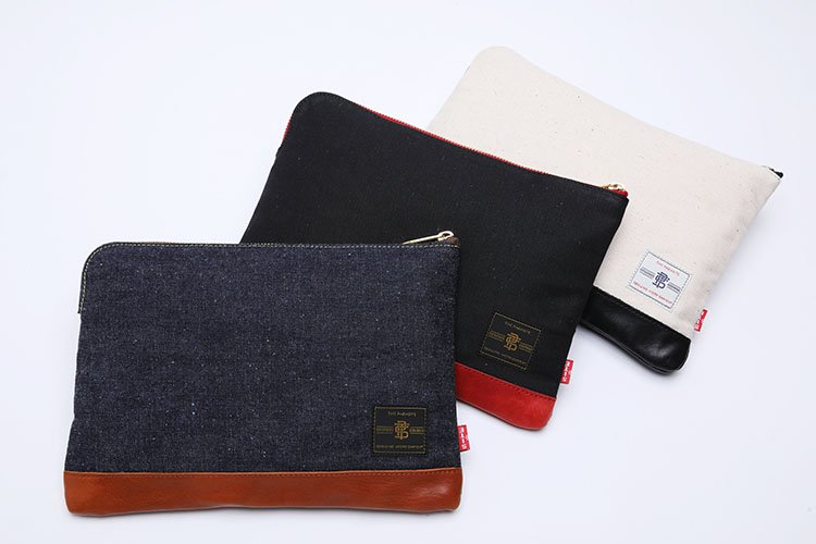 MONEY DENIM CLUTCH BAG写真その2